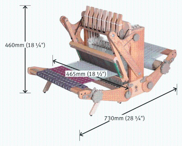 Ashford Katie 8 shaft/30cm loom