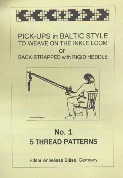Pick-ups in Baltic Style No 1 5 Thread Patterns - Anneliese Blase